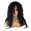 Black Rock Star Crimp Wig