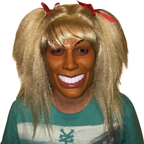 Creepy Mask and Wig Combo