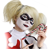 Harley Blond Messy Pony Tail Wig