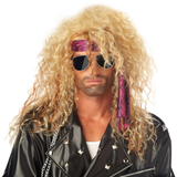 80s Crimp Rock Star Wig