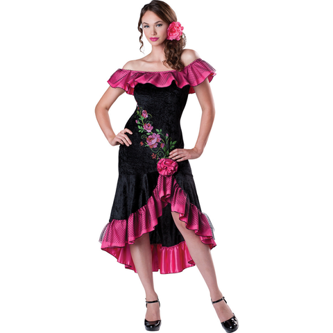 Flirty Flamenco Dancer