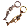 Skeleton Mermaid Keychain