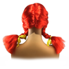 Red Ponytail Braid Wig