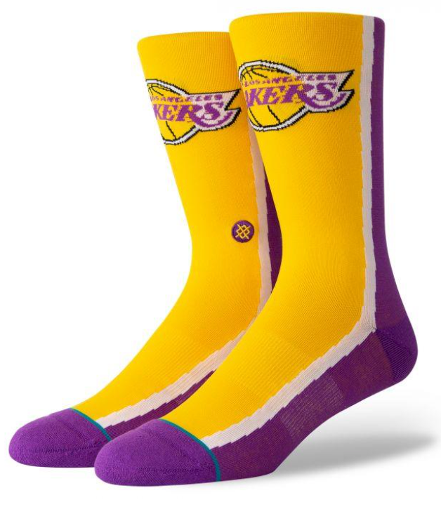 Stance Socks - NBA LOS ANGELES LAKERS HWC WARMUP SOCKS M545B19LAK.PUR