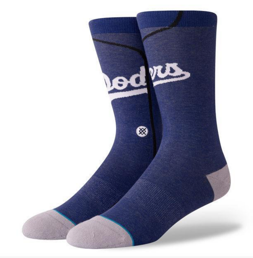 STANCE SOCKS LOS ANGELES DODGERS MLB JERSEY CREW