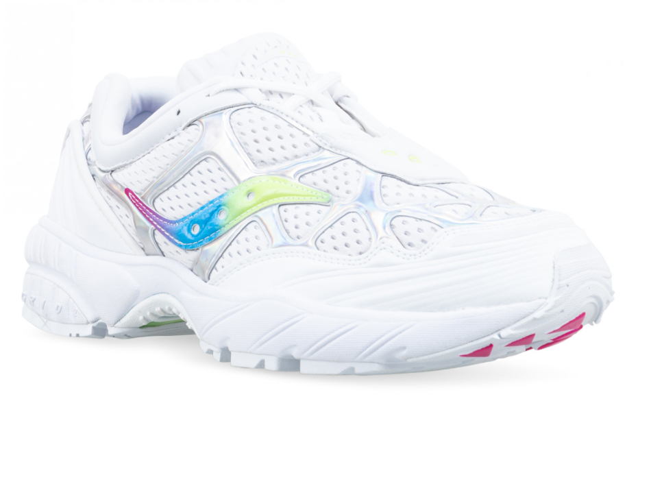 SAUCONY ORIGINALS GRID WEB - White / Multi