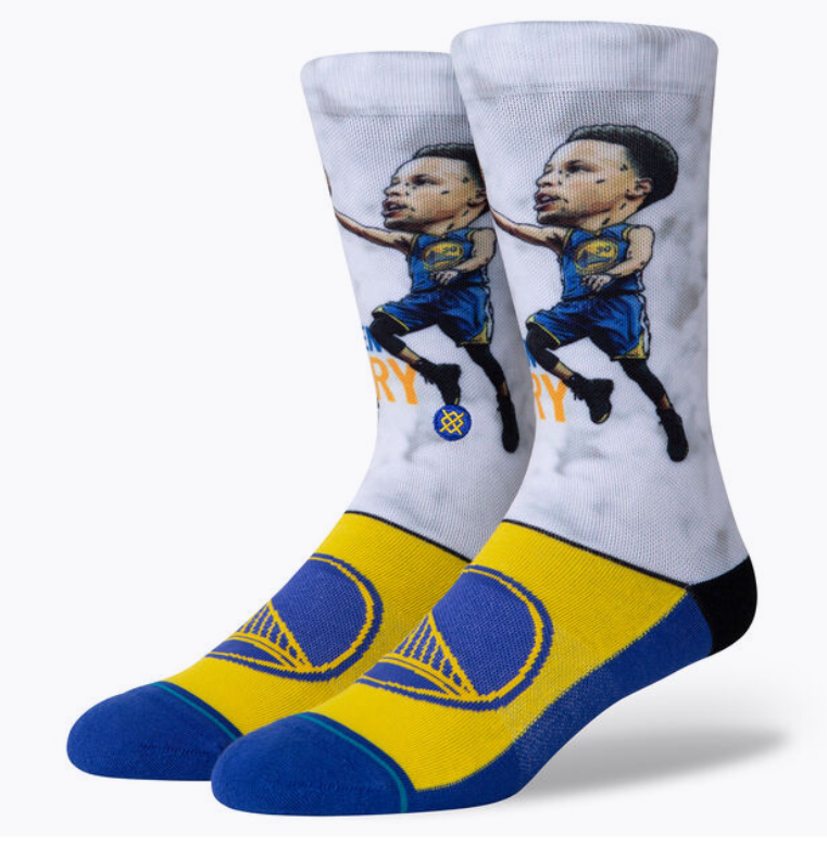 Stance Socks - STEPHEN CURRY - BIG HEAD