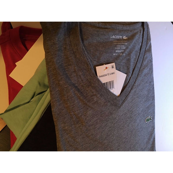 Men's Lacoste V-Neck Tshirt