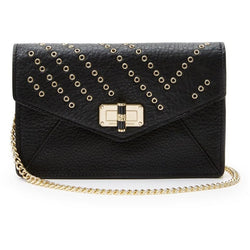Diane von furstenberg Voyage Fur Cross Body Bag - Black in Black