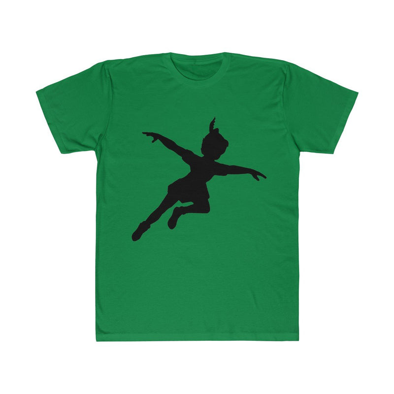 Unisex Adults Peter Pan Fitted Tee T-Shirt