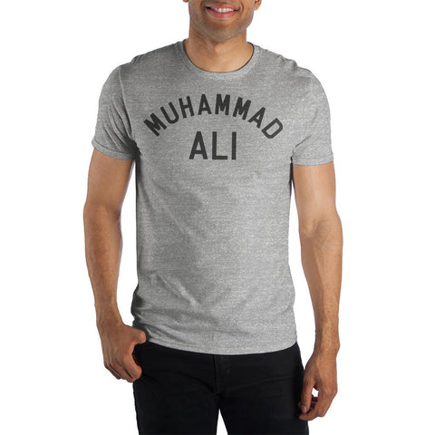 Muhammad Ali Men's Gray T-Shirt Tee Shirt  Sunny Shapes: Online Shopping for Furniture, Crafts, Home Decor...