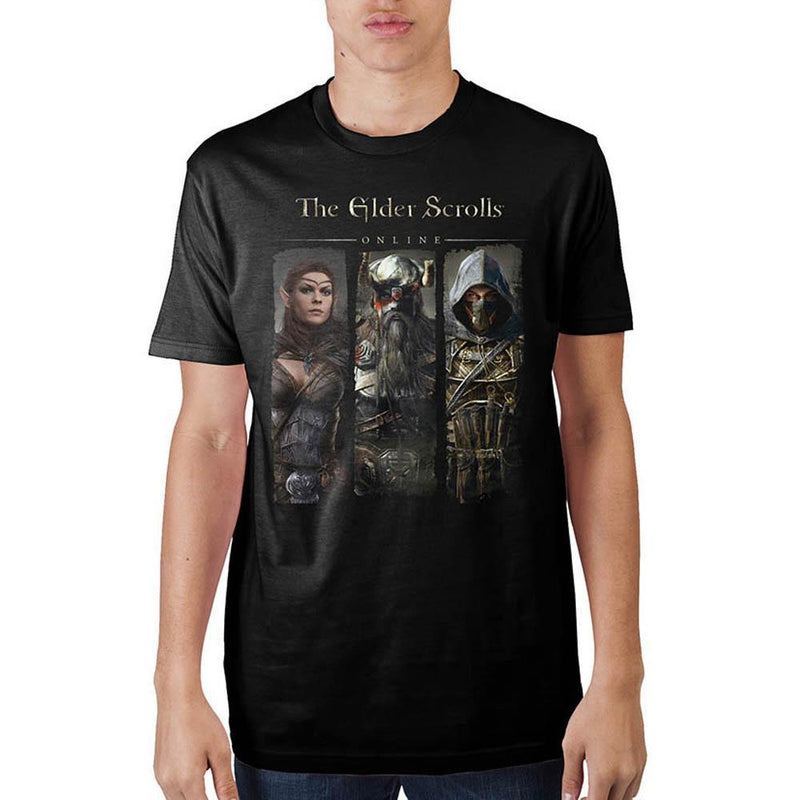 Elder Scrolls Character Black T-Shirt  Sunny Shapes: Online Shopping for Furniture, Crafts, Home Decor...