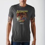 Fallout Automatron Grey T-Shirt  Sunny Shapes: Online Shopping for Furniture, Crafts, Home Decor...