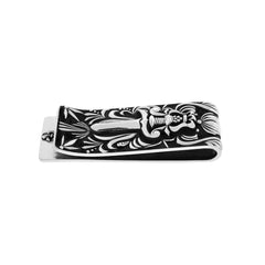 Gothic Poniard Silver Money Clip