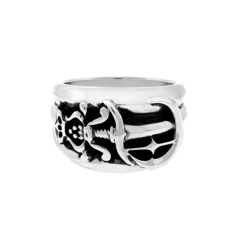 Poniard Silver Ring
