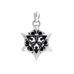 Small Star of David Silver Pendant