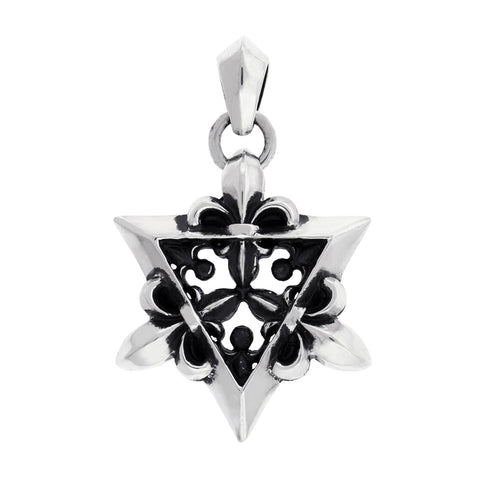 Large Star of David Silver Pendant