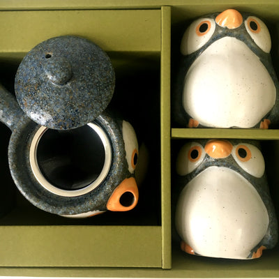 Tea Set Japanese - Penguin Design