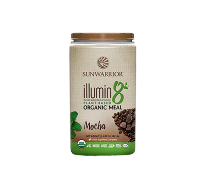 illumin8 Complete Super Food Mocha 1kg Sunwarrior