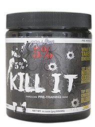 5% Kill It –Pre Workout Mango Pineapple 288gm 30 Serves Rich Piana