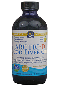 Arctic-D Cod Liver Oil Liquid Lemon