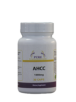 AHCC 1000mg 30 caps : A powerful immuno-stimulant supplement