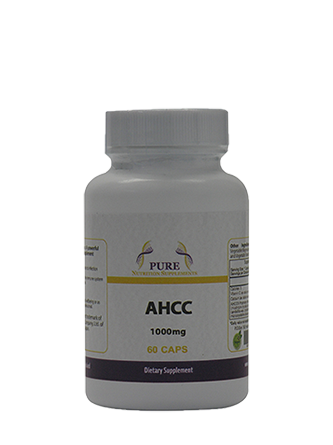 AHCC 1000mg 60 caps : A powerful immuno-stimulant supplement