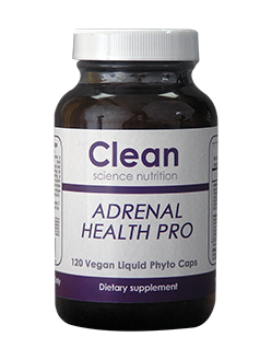 Adrenal Health Pro 120 Caps -Clean Science Nutrition