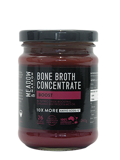 Bone Broth Concentrate - Boost 260gm  Meadow & Marrow - Healthhub247.com