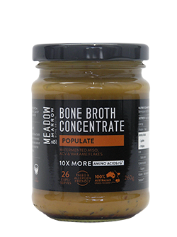 Bone Broth Concentrate – Populate 260gm Meadow & Marrow - Healthhub247.com