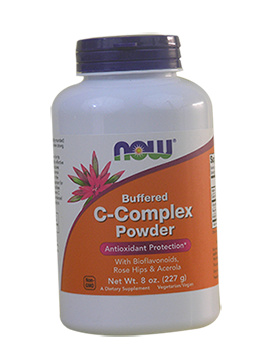 C-Complex Powder Buffered 8 OZ Now Foods
