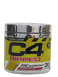 C4 RIPPED 30 Serves Explosive Pre-workout and Fat Cutting formula Raspberry Lemonade-Cellucor - Healthhub247.com