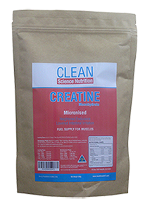 Creatine Monohydrate 500gm-Clean Science Nutrition - Healthhub247.com