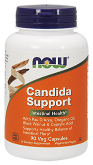 Candida Support 90 VCAPS Now Foods