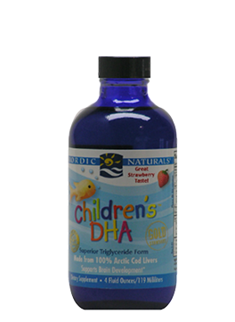 Nordic Naturals—Children's DHA Liquid Strawberry 119 ml - Healthhub247.com