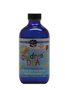 Nordic Naturals—Children's DHA Liquid Strawberry 237 ml - Healthhub247.com