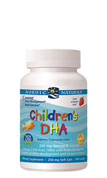 Children's DHA Strawberry Chewable  Softgels