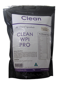 Clean WPI Pro All Natural Protein Plain 1kg -Clean Science Nutrition - Healthhub247.com