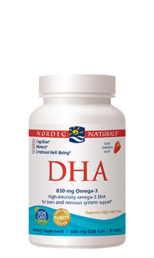 Nordic Naturals—DHA Strawberry 500 mg 90 Soft gels - Healthhub247.com