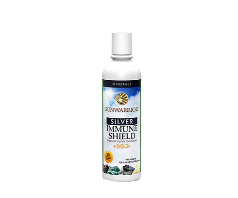 Immune Shield-Natural Fulvic Complex Liquid 8oz 237ml-Sunwarrior