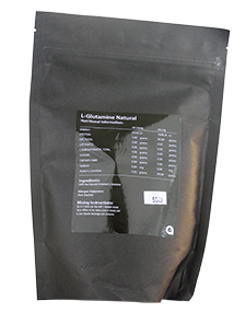 L Glutamine Pure Powder 500gm-Clean Science Nutrition - Healthhub247.com