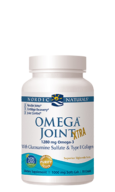 Omega-3 Joint Xtra Lemon 1000 mg 90 Softgels— Nordic Naturals - Healthhub247.com