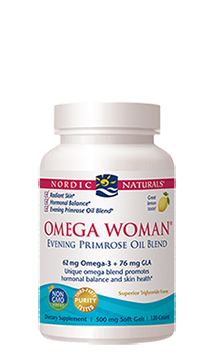 Omega Woman Lemon 120 Softgels