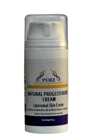 Progesterone Cream Scent Free All Natural 85gm - Healthhub247.com
