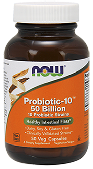 Probiotic-10™ 50 Billion 50 Vegetarian Capsules