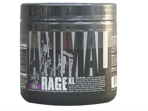 Animal Rage XL Pre workout 30 serves Grapes of Wrath - Healthhub247.com