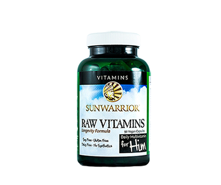 Raw Vitamins For Him 90 Caps Sunwarrior - Healthhub247.com