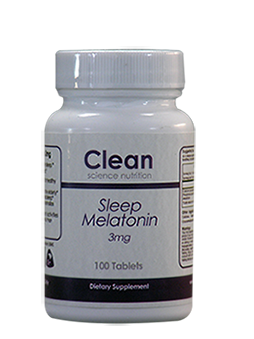 Melatonin Sleep 3mg 100 Tablets Clean Science Nutrition