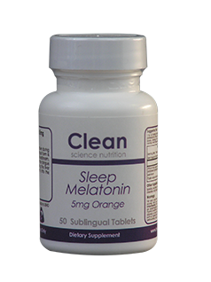 Sleep Melatonin 5mg Sunlingual Orange