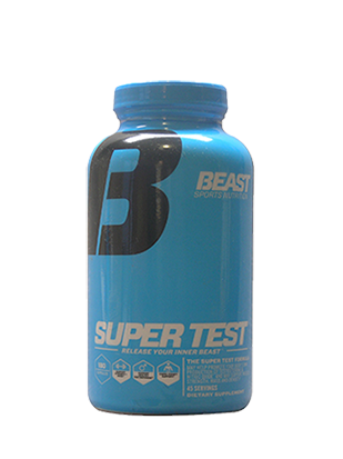 Super Test 180 Capsules 45 Serves Beast Nutrition